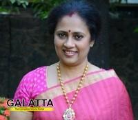 Lakshmy Ramakrishnan to charge case against Vijay TV!