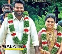 Saranya enters wedlock!