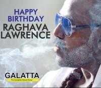 Raghava Lawrence's birthday
