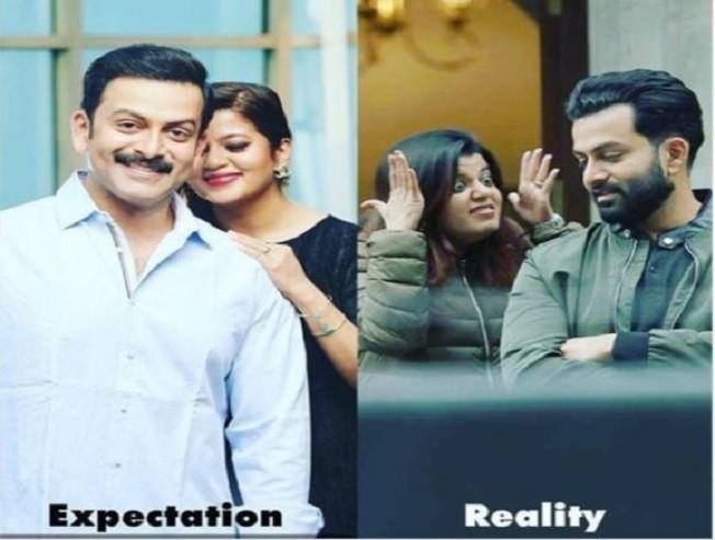 Heres Malayalam Star Prithvirajs Valentines Day Gift to Wife Supriya Menon