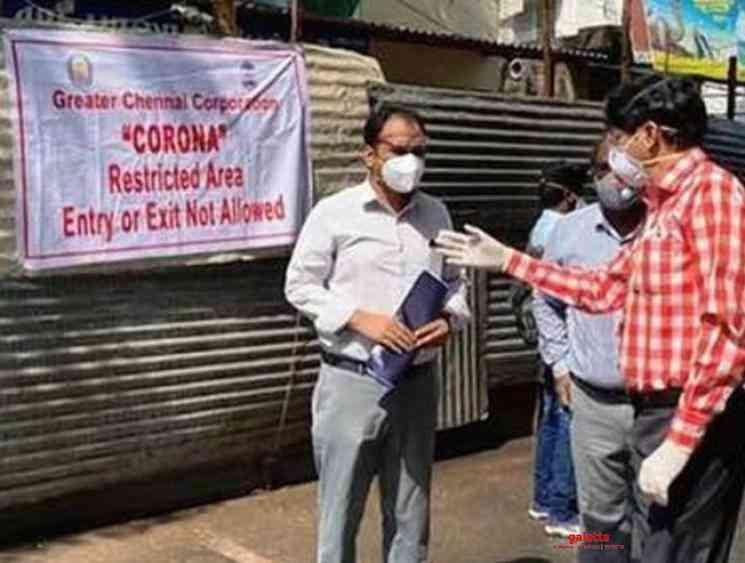 Chennai Corporation 795 containment streets removed lockdown - Tamil Movie Cinema News