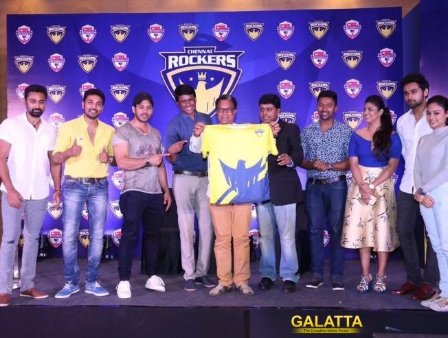 Chennai Rockers team unveiled for CBL Season 1