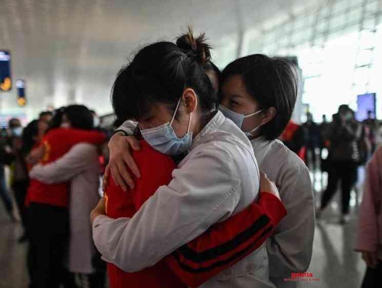 China coronavirus cases single digit for first time since January - Tamil Movie Cinema News