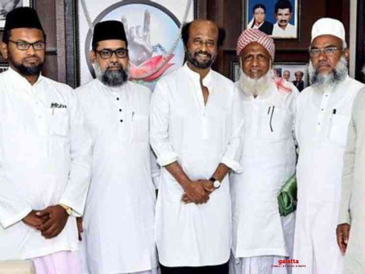 Superstar Rajinikanth assures he would help people fearing CAA - Hindi Movie Cinema News