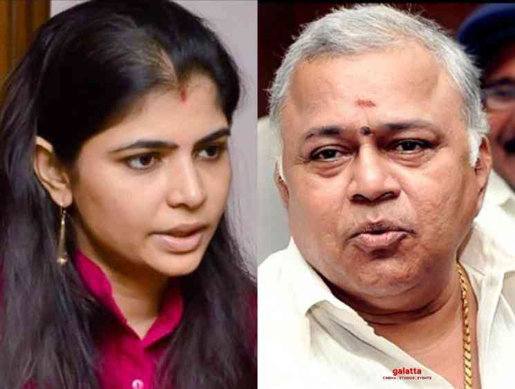 Chinmayi shocked after Radha Ravi win in Dubbing Union Elections - Tamil Movie Cinema News