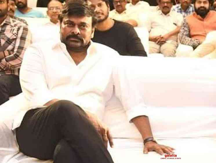 Chiranjeevi leaks Archarya movie title Koratala Siva - Tamil Movie Cinema News