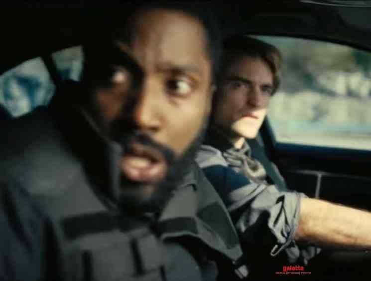 Christopher Nolan Tenet Tamil Trailer Robert Pattinson - English Movie Cinema News