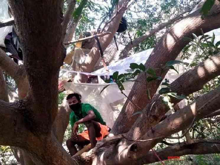 Assam guy forced into quarantine on tree house - Tamil Movie Cinema News