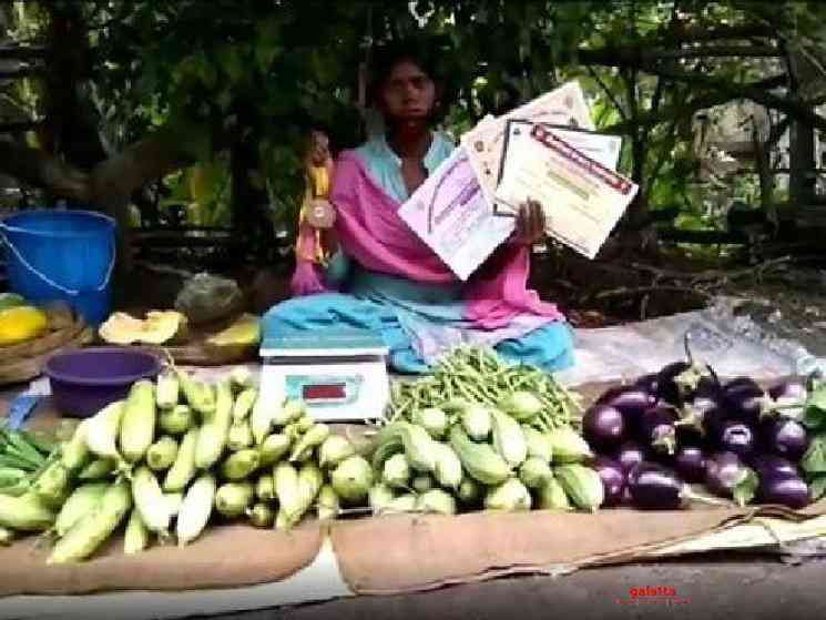 National level archer sells vegetables during lockdown - Tamil Movie Cinema News