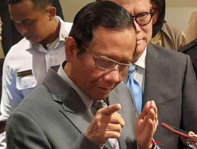 Corona is like your wife Indonesian Minister Mahfud MD - Tamil Movie Cinema News