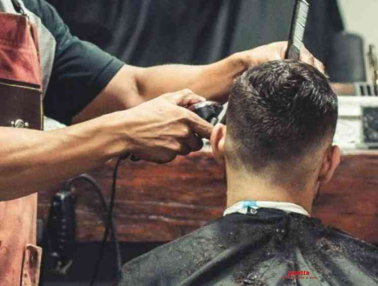 Corona lockdown barber shops reopen Tamil Nadu rural areas May 19 - Tamil Movie Cinema News
