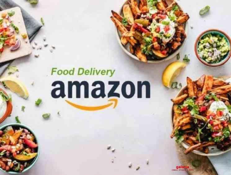 Coronavirus Amazon as competition to Swiggy Zomato food delivery - Tamil Movie Cinema News