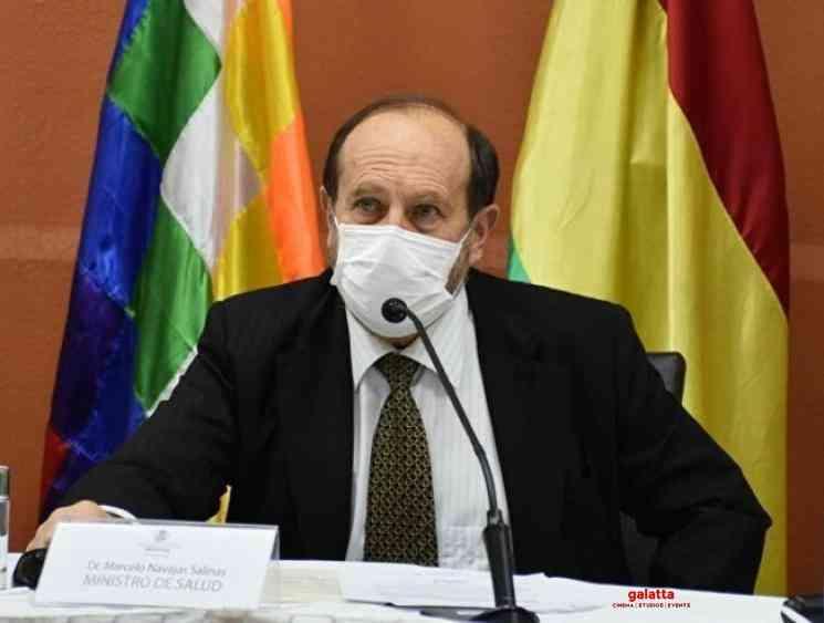 Coronavirus Bolivia Marcelo Navajas arrest ventilator corruption - Tamil Movie Cinema News