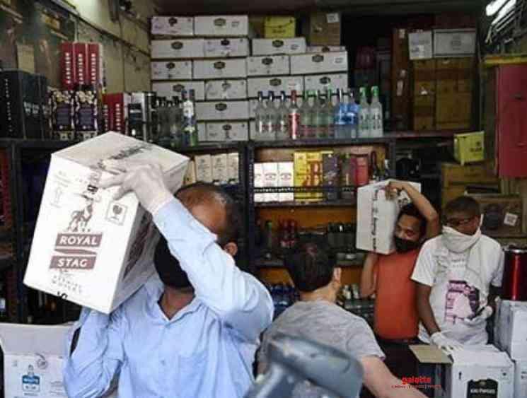 Coronavirus Lockdown Madras High Court allows online liquor sale - Tamil Movie Cinema News