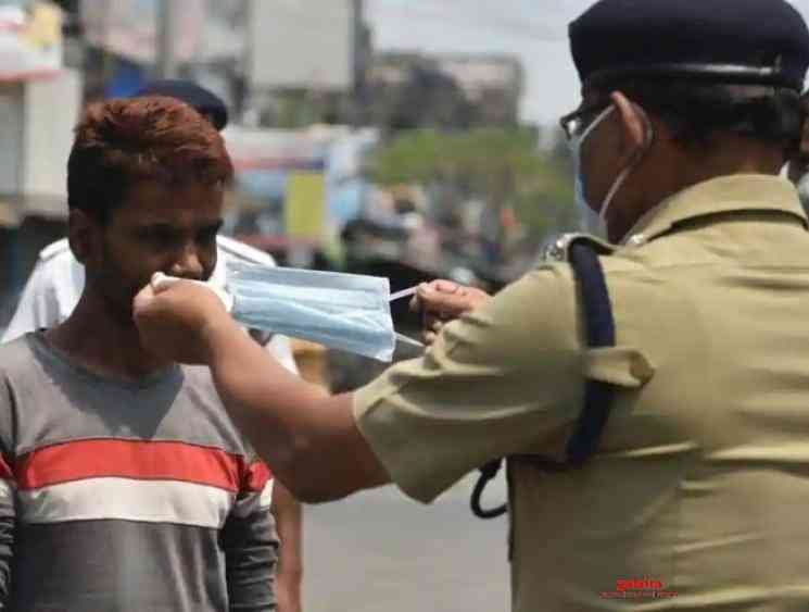 Coronavirus Not wearing face mask in Salem will lead to arrest - Tamil Movie Cinema News