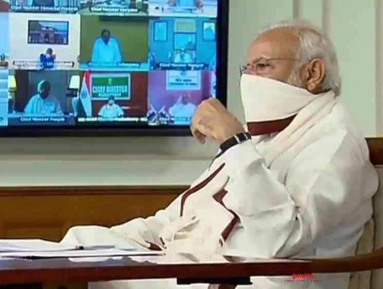 Coronavirus PM Modi to hold video conference with CMs once again - Tamil Movie Cinema News
