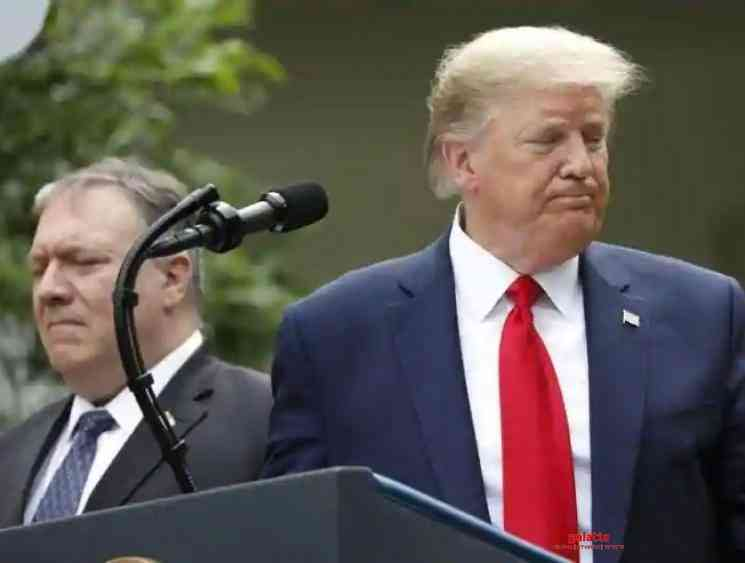 Coronavirus President Donald Trump terminates US ties with WHO - Tamil Movie Cinema News