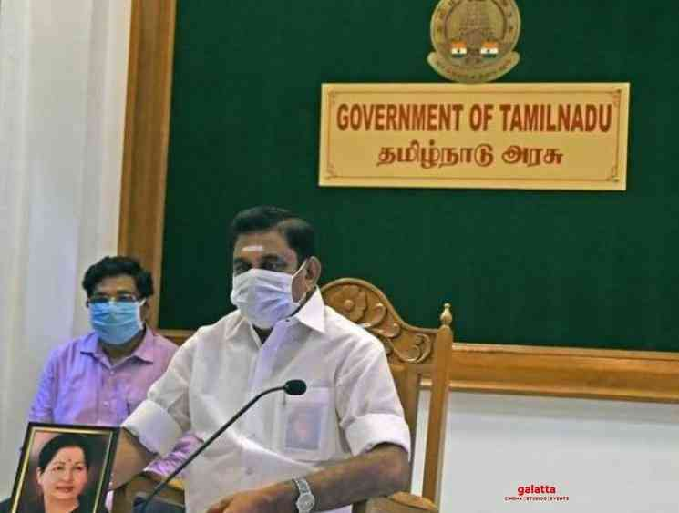 Coronavirus Tamil Nadu CM extends lockdown till April 30 - Tamil Movie Cinema News