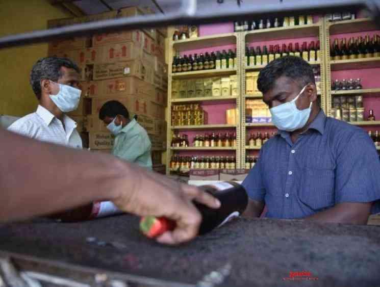 Lockdown Supreme Court permits TASMAC outlets reopening - Tamil Movie Cinema News
