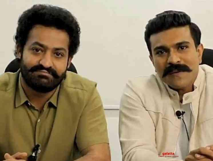Coronavirus awareness video from RRR movie Ram Charan Jr NTR - Tamil Movie Cinema News