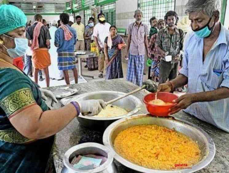 lockdown Free food till May 17 in all Chennai Amma Canteens - Tamil Movie Cinema News