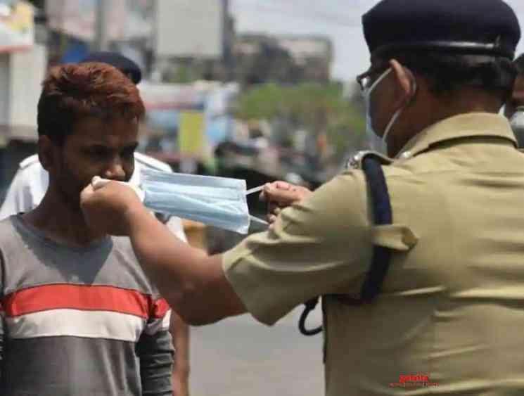 Coronavirus lockdown Madurai 502 people fined not wearing masks - Tamil Movie Cinema News