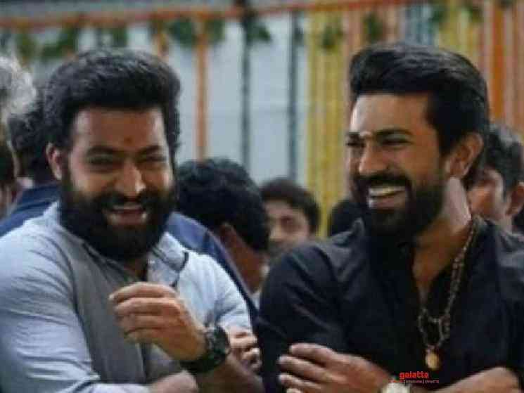 RRR team surprise video for Ram Charan birthday from Jr NTR - Tamil Movie Cinema News