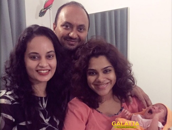 It's a baby girl for Kadhal Sandhya