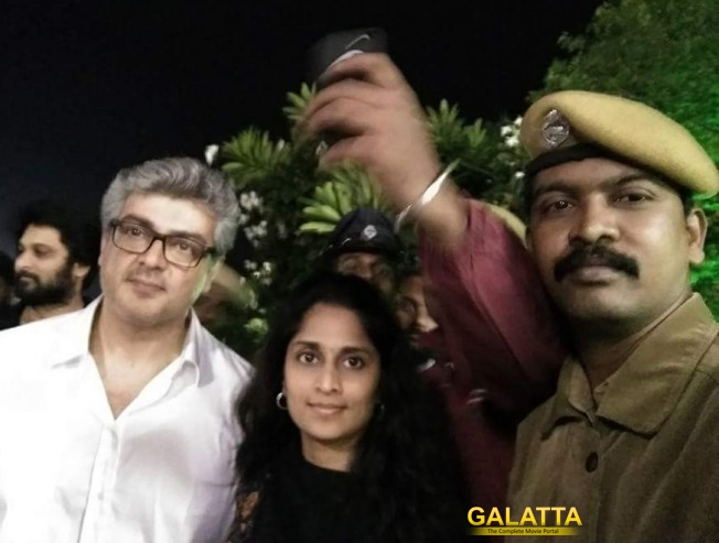 Ajith returns to Chennai, goes straight to Amma Memorial