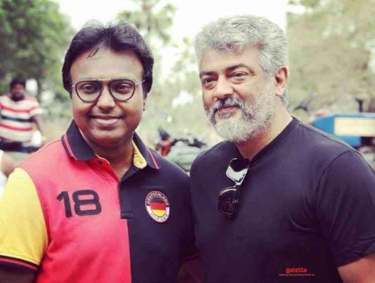 D Imman thanks Thala Ajith fans for new Viswasam record - Tamil Movie Cinema News