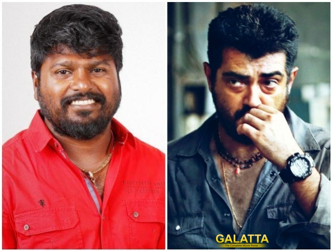 Anl Arasu In Thala Ajith Viswasam For Stunt Choreography