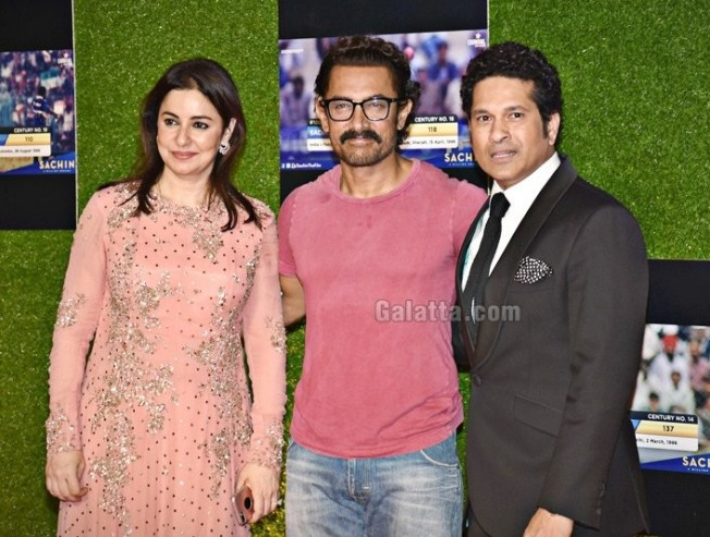 Aamir Khan is Best Fit to Play Me - Sachin