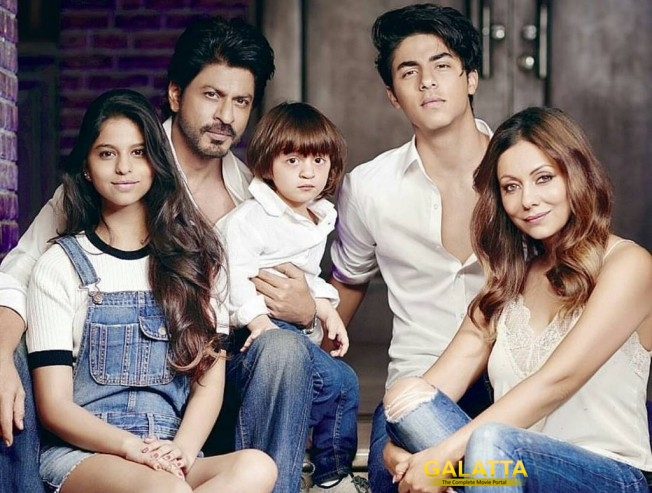 Shahrukh Khan is a Doting Dad