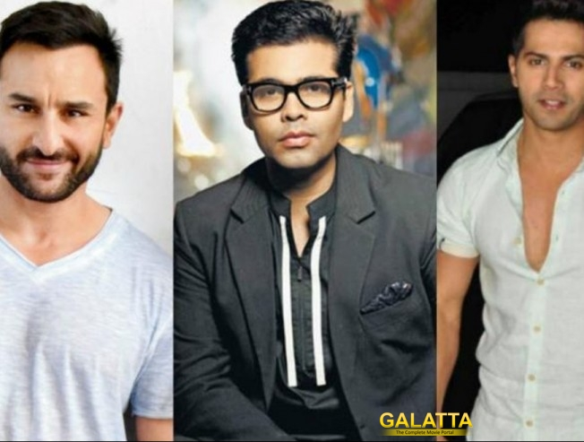 Karan Johar and Saif Ali Khan to Host IIFA 2017