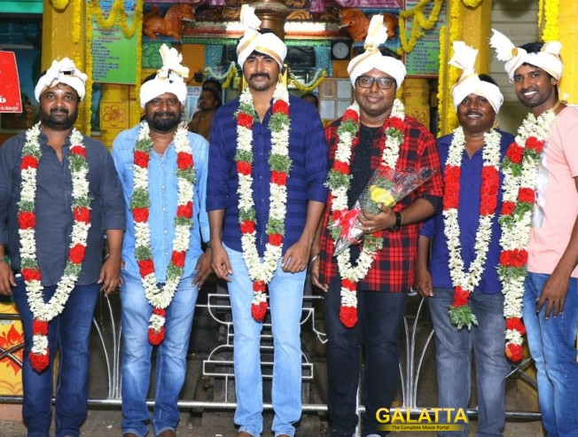 Pooja for Sivakarthikeyan, Ponram Film Conducted