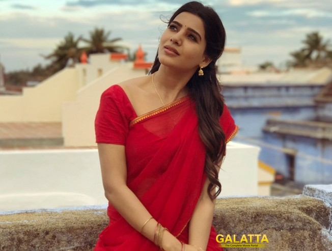 Samantha's Traditional Attire Earns More Fame than Glamor Looks