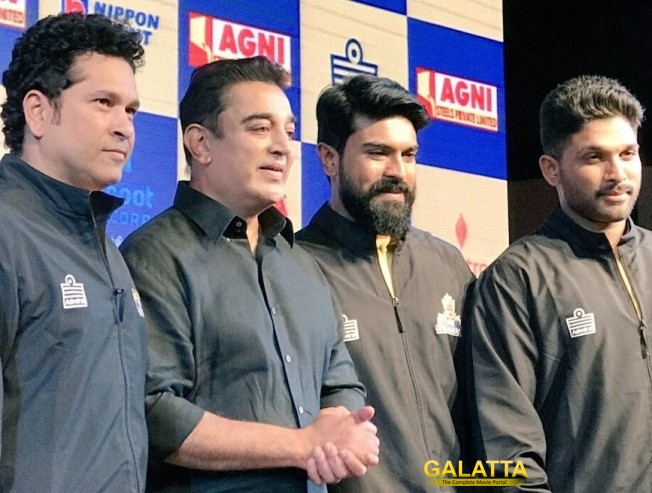 Tamil Thalaivaas Kabaddi Team Brings Kamal, Sachin and Ram Charan Together