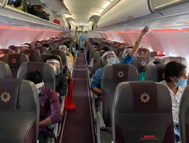 DGCA tell airlines keep middle seat empty give wrap around gowns - Tamil Movie Cinema News
