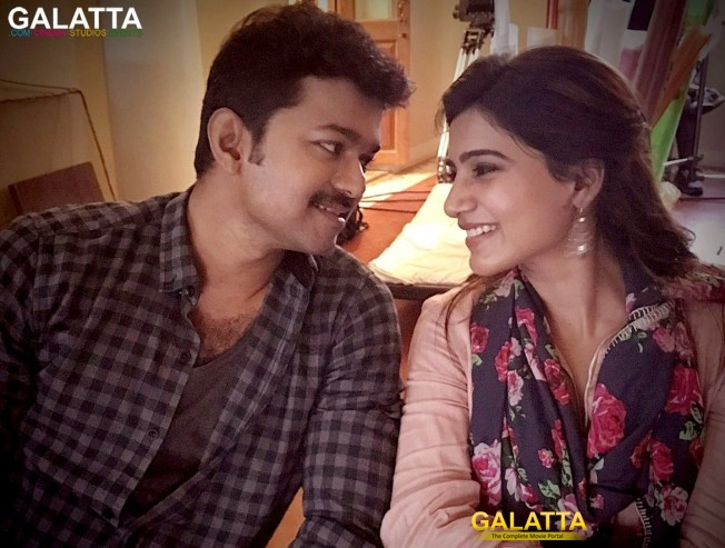 samantha's hat-trick with thalapathy - Tamil Movie Cinema News