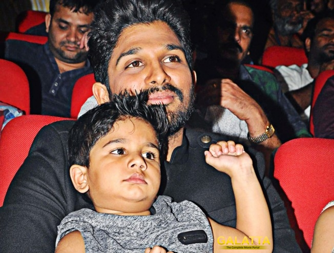 Allu Arjun's Son Trends on Social Media