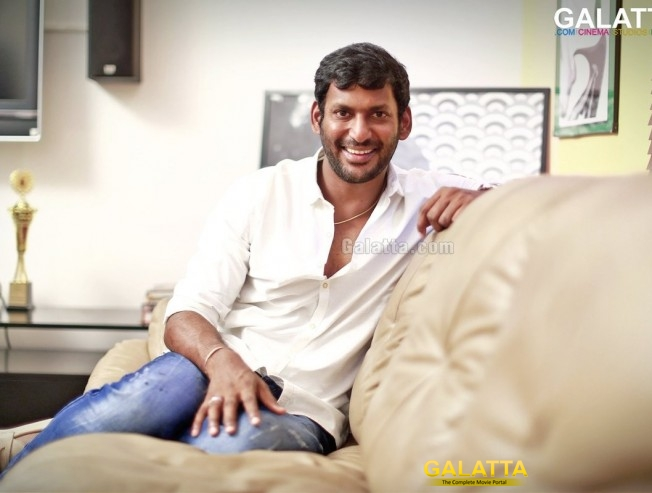 JUST IN: Vishal Makes an Announcement on Mersal Release