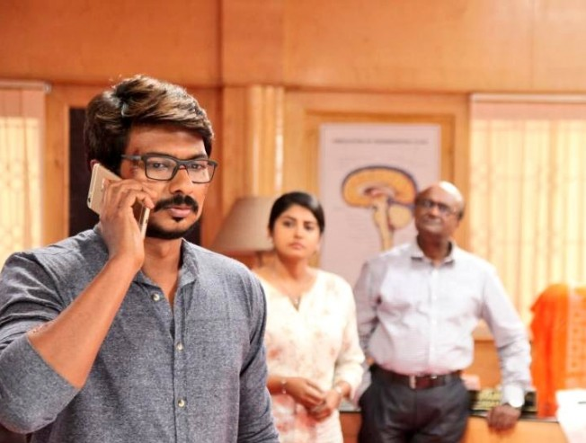 Does Udhayanidhi like his dad hitting the gym?