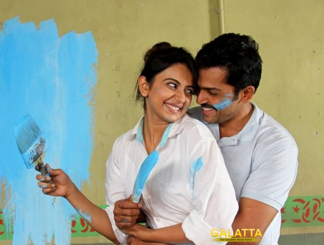 I hit Karthi very hard - Rakul Preet's confession