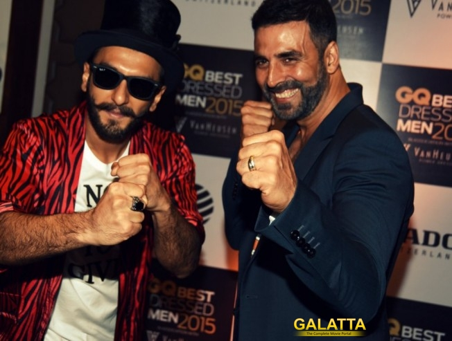 Akshay is very energetic : Ranveer Singh