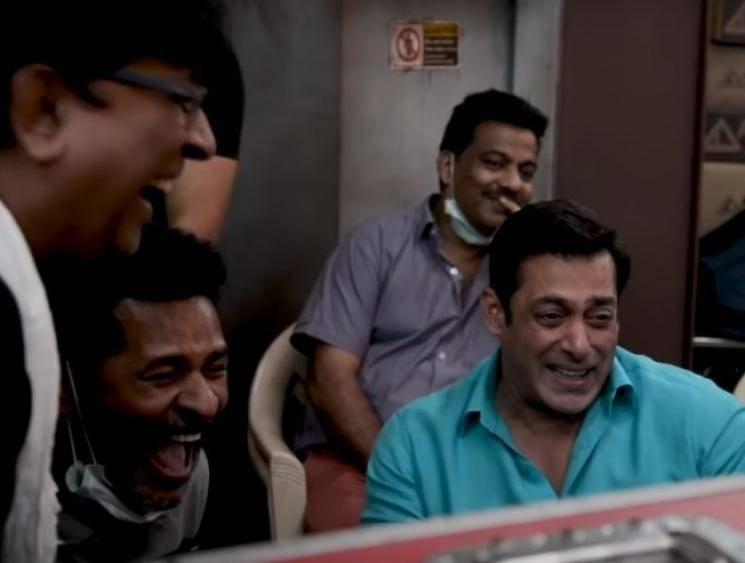 Dabangg 3 making video Prabhu Deva Salman Khan Sonakshi Sinha - Tamil Movie Cinema News