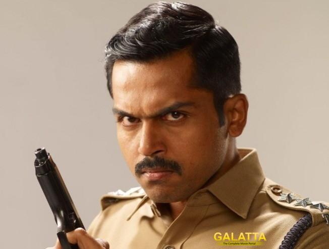 Dev Movie Dubbing Work Begins Karthi Starrer Cop Entertainer