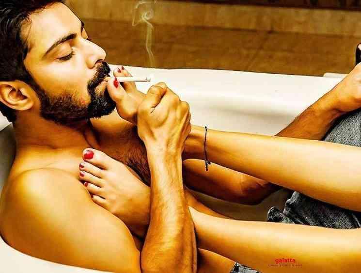 Simrat Kaur poster from Dirty Hari MS Raju - Tamil Movie Cinema News