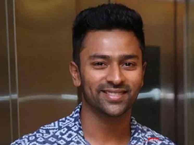 Shanthnu Bhagyaraj shares home workout video - Tamil Movie Cinema News