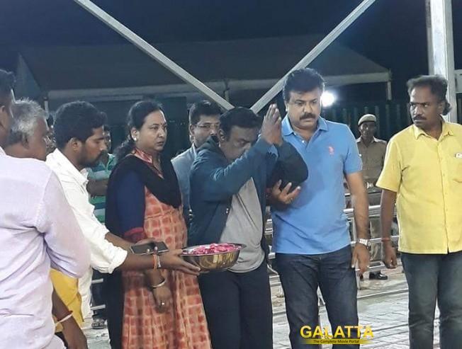 Vijayakanth Breaks Down At Marina