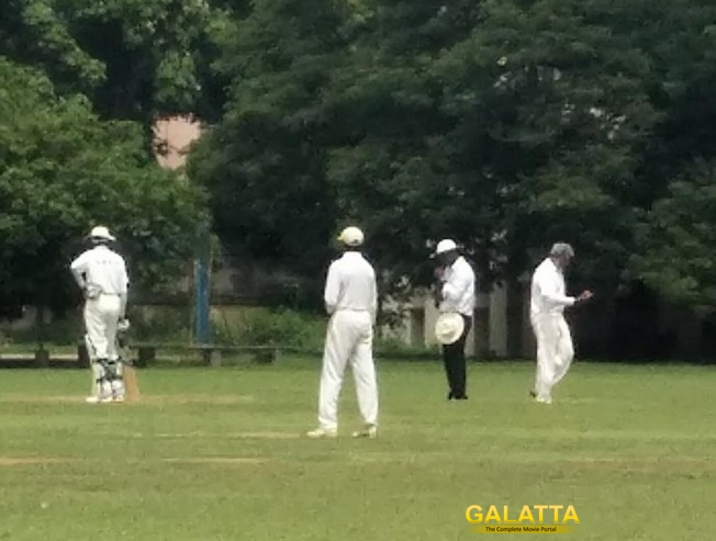 EXCLUSIVE VIDEO: Thala Ajith Playing Cricket